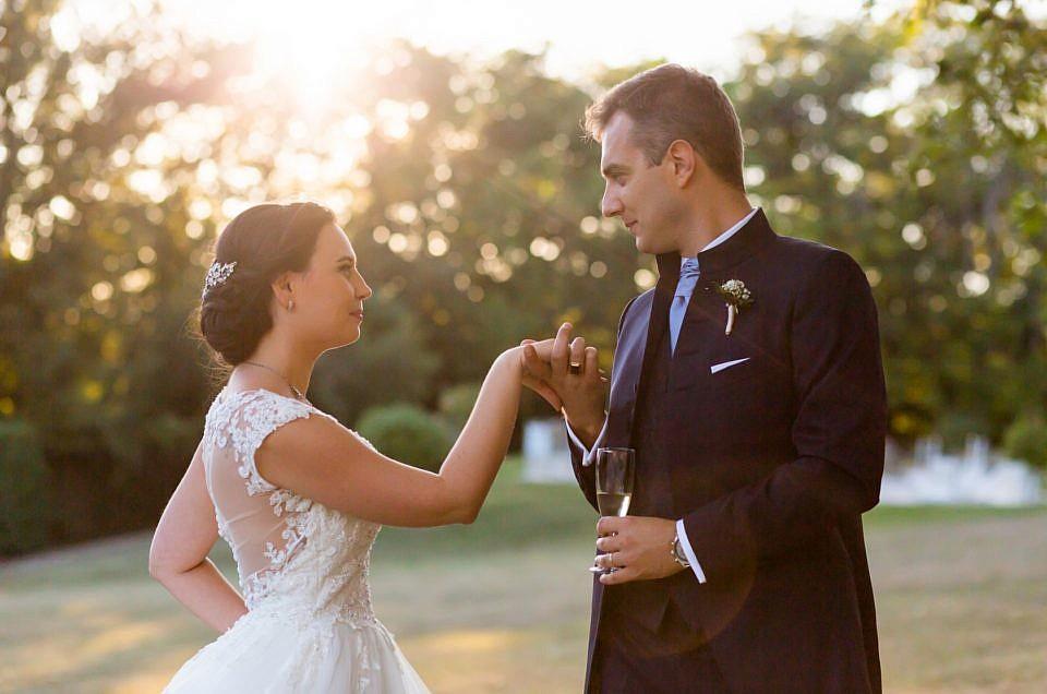 Mariage d'Amandine et Dragan : l'Élégance incarnée !